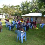 The Water Project: Bukalama Community, Wanzetse Spring -  Training In Progress