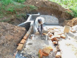 The Water Project:  Building The Stairs