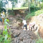 The Water Project: Mukhweso Community, Shemema Spring -  Excavation