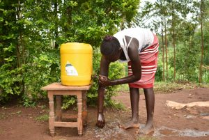 The Water Project:  Handwashing Session