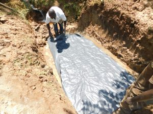 The Water Project:  Laying Of Foundation