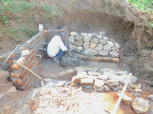 The Water Project:  Stone Pitching