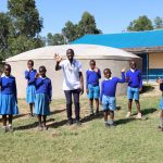 The Water Project: Jamulongoji Primary School -  High Fives For Clean Water