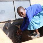 The Water Project: Jamulongoji Primary School -  Water Flowing