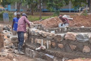 The Water Project:  Building Walls