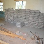 The Water Project: Tyaa Kamuthale Secondary School -  Cement Bags