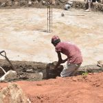 The Water Project: Tyaa Kamuthale Secondary School -  Cement Work