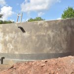 The Water Project: Tyaa Kamuthale Secondary School -  Complete Tank