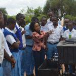 The Water Project: Tyaa Kamuthale Secondary School -  Handwashing