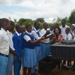 The Water Project: Tyaa Kamuthale Secondary School -  Handwashing Session