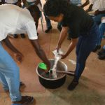 The Water Project: Tyaa Kamuthale Secondary School -  Making Soap
