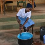 The Water Project: Tyaa Kamuthale Secondary School -  Mixing Soap