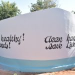 The Water Project: Tyaa Kamuthale Secondary School -  Painted Tank