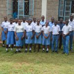 The Water Project: Tyaa Kamuthale Secondary School -  Student Health Club Members