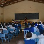 The Water Project: Tyaa Kamuthale Secondary School -  Students At Training