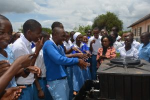 The Water Project:  Students Wash Their Hands