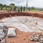 The Water Project: Kamuwongo Primary School -  Preping Foundation For Walls