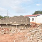 The Water Project: Kamuwongo Primary School -  Scaffolding On Tank Walls