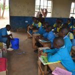 The Water Project: Kamuwongo Primary School -  Soapmaking Demonstration