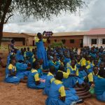 The Water Project: Kamuwongo Primary School -  Stuents At Training