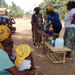 The Water Project: Lokomasama, Gbonkogbonko Village -  Handwashing Demonstration