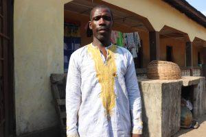 The Water Project:  Hassan Kamara