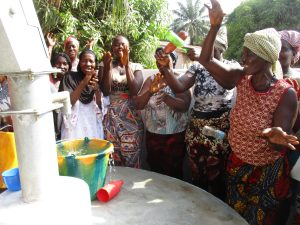 The Water Project:  Community Members Singing Dancing And Celebrating