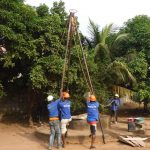 The Water Project: Lungi, New York, Robis, #7 Masata Lane -  Drilling