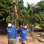 The Water Project: Lungi, New York, Robis, #7 Masata Lane -  Raising The Tripod