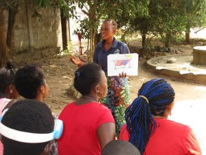 The Water Project:  Facilitator Discusses Good Hygiene Practices