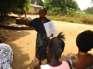 The Water Project:  Hygiene Facilitator Teaching About Breastfeeding And Its Importance