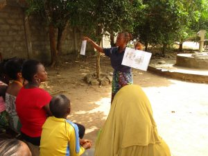 The Water Project:  Facilitator Compares Healthy And Unhealthy Communities