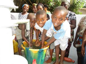 The Water Project:  Kids Playing With Clean Water