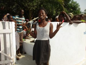 The Water Project:  Mariama Jalloh Making Statement