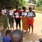 The Water Project: Lungi, New York, Robis, #7 Masata Lane -  Participants Displaying Disease Transmission Story