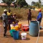 The Water Project: Lungi, New York, Robis, #7 Masata Lane -  Yield Test