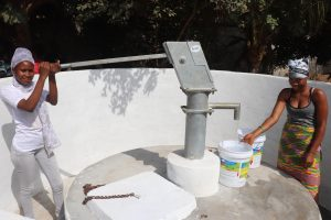 The Water Project:  Young Ladies Collecting Water