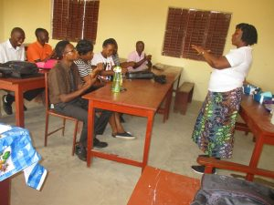 The Water Project:  Hygiene Facilitator Teaching Proper Way Of Hand Washing