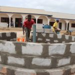 The Water Project: Lungi, International High School For Science & Technology -  Pad Construction