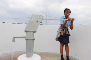 The Water Project:  Student Collecting Safe And Clean Water