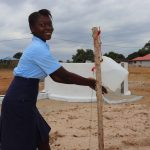 The Water Project: Lungi, International High School For Science & Technology -  Student Demonstrating Handwashing