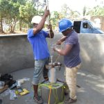 The Water Project: Lungi, Kamen, #22 Mission Road -  Pump Installation