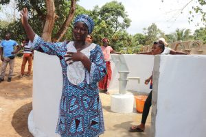 The Water Project:  Section Chief Ya Almammy Nbonghor Sesay