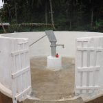 The Water Project: Lokomasama, Gbonkogbonko Village -  Finished Project