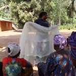 The Water Project: Lokomasama, Gbonkogbonko Village -  Hygiene Facilitator Teaching About Malaria