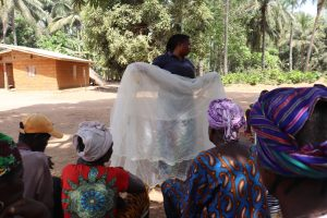 The Water Project:  Hygiene Facilitator Teaching About Malaria