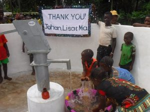 The Water Project:  Community Kid Celebrating Clean Water