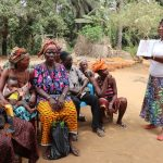 The Water Project: Lokomasama, Gbonkogbonko Village -  Hygiene Facilitator Teaching