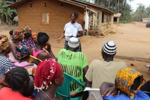 The Water Project:  Hygiene Facilitator Teaching About Bad Hygiene Practices