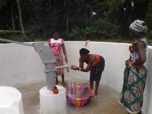 The Water Project:  Woman Joyfully Looking At Clean Water